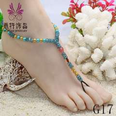 2013 trendy anklet, anklet wholesale, fashion sexy beach barefoot anklet