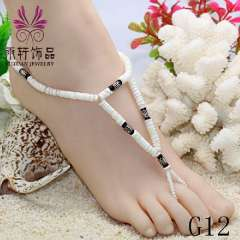sexy barefoot anklet, fashion jewelry, beach anklet jewelry