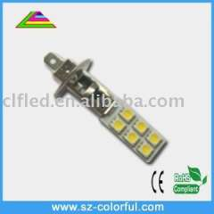 12pcs 5050smd H1 led car lamps