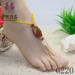 hot-sale fashion anklet, 2013 anklet jewelry, sexy beach barefoot jewelry