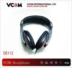 VCOM Top Headphone 3.5 mm Stereo Noise Cancelling Headphone