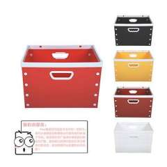 Times yield DIY storage box without cover - solid series ( 3322 ) Random Color