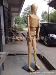 Guangzhou Baima clothing props wooden models, female models, male special large wooden (to pose)