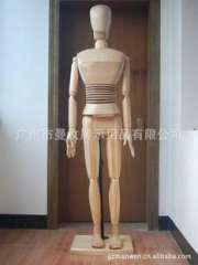 Female special, wooden models, wooden, wooden crafts (movable limbs can pose)