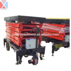 Man lift equipment battery operated price
