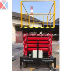 Aerial working platform hydraulic articulated lift