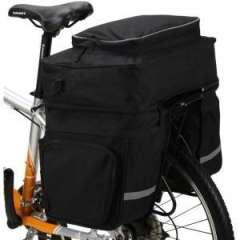 Three-piece black 45L pack package