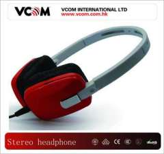Newest Classic Red Noise Cancelling Cheap Headphone