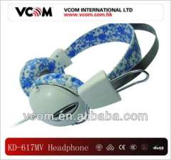 2013 light colour headphone with mic