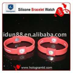 2011Paypal-available fashion-style silicone bracelets, 100%silicone, Eco-friendly and harmless to body