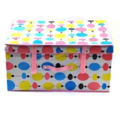 Colorful balloons coated waterproof large storage box (60 * 40 * 30 )