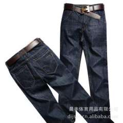 Supply of men's casual pants 2012 Men's classic Slim washed jeans