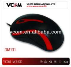 VCOM Scroll Wheel USB Optical 3D Wired Mouse For PC Laptop