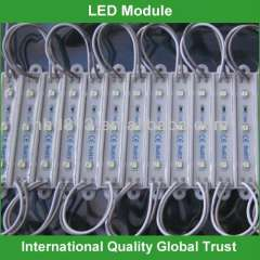 12v waterproof 3 led module smd
