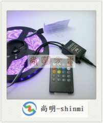 20 key RGB light bar controller, IRLED music controller, led lights music controller manufacturers wholesale
