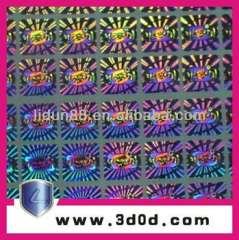 security holograms labels sticker