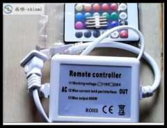 220v lights with remote controller | 5050 colorful RGB soft light remote control remote control plug