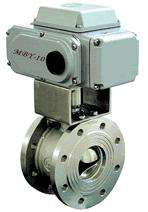 Electric V -type valve, the electric valve