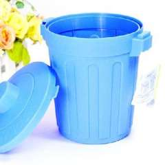 Mini Desktop debris bucket lid / multi-purpose storage barrels | Color Random