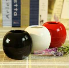 free shipping three colors spherosome vase can match simulation flower home decorations wedding gift
