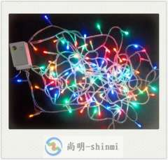 Factory direct flash LED lantern string lights | decorative festive lights 10 meters with a tail plug | color LED lights