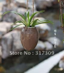 4Pcs\lot, Lovely hanging ceramic vase, egg shaped, porcelain vase, home decoration \ free shipping