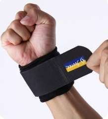 Highly breathable adjustable wrist