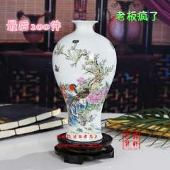 Wholesale vase ornaments free shipping !!! Brief ceramic vase modern fashion white decoration home decoration