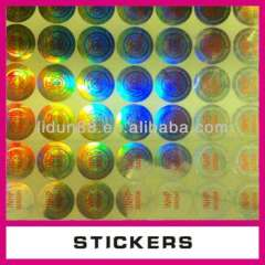 laser label hologram printer, hologram sticker\ label