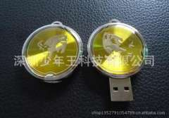 Zodiac cattle Epoxy u disk | u disk coins | Epoxy design logo provide new development | Epoxy