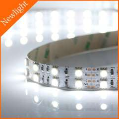 Double row LED Strip Light SMD 5050 120leds\m 28.8W\m 12V DC nonwaterproof flexible tape ribbon light 5m\reel