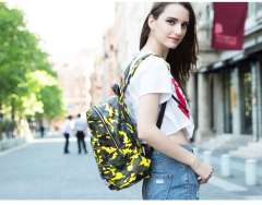 HOT STYLE Camouflage Korean Institute of leisure travel backpack schoolbag tide
