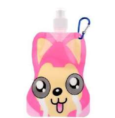 A raccoon face compression ice cup / Portable water bag