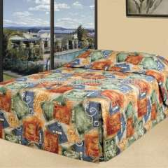 5 star 100% polyester hotel bed cover