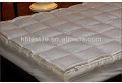 comfortable double layers hotel and home use mattress pad