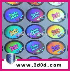 Speckle Holography label\ Laser anti-fake stickers