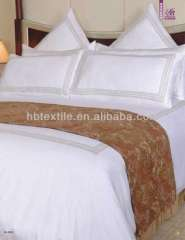 luxury white plain Eyptian cotton hotel duvet cover