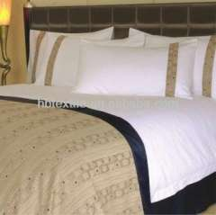 luxury 200-800 thread count 100% cotton hotel bed linen