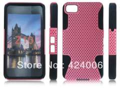 HOT mesh protective sleeve case for Blackberry Z10, Simple fashion style case for Blackberry, Free shipping!!