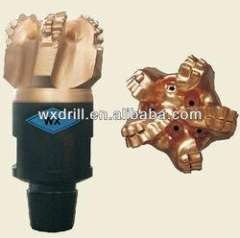 Steel body IADC code PDC bit for well drilling