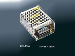 Enclosed Switching Power Supply HS-15W