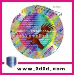 holograms security stickers, holographic wholesaler