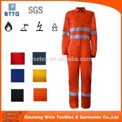 Durable Proban chemical treated fire retardant clothing