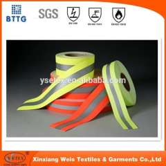 3cm 5cm fire retardant reflective tape for Fr workwear