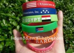 magnetic energy silicone wristband fashionable and cheap