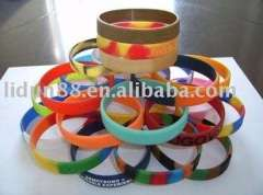 2011 Silicone Rubber Bands imepieces, Jewelry, Eyewear in hologram, Paypal-available, Eco-friendly and harmless tp body