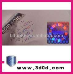 3D hologram sticker\anti-fake holographic labels