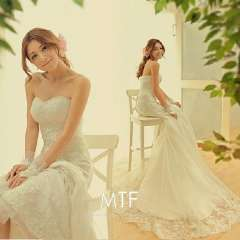 Free Shipping high quality Guarantee100% A++++++ Hot-sales brand new 2013 White Lace Bra trailing fishtail wedding dress S800