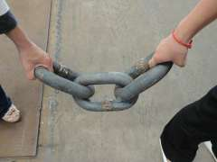Harvesters three rings, three-ring chain, three chain rings