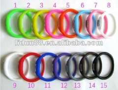 2012 Hot Silicone healthy ion Bracelet\Wristbands